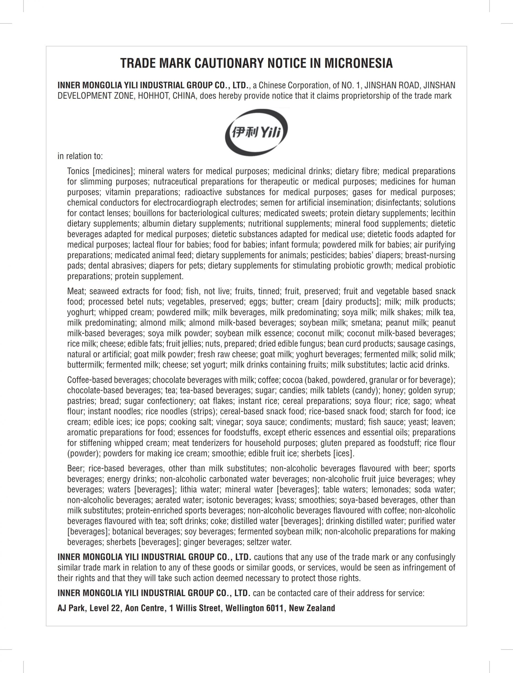 Cautionary Notice Micronesia Chinese ref 883432