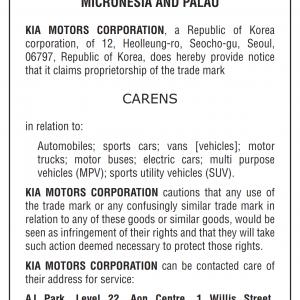 Cautionary Notice CARENS Micronesia 001