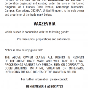Cautionary Notice VAXZEVRIA Nauru 89 x 120 vert Jan 2021 001