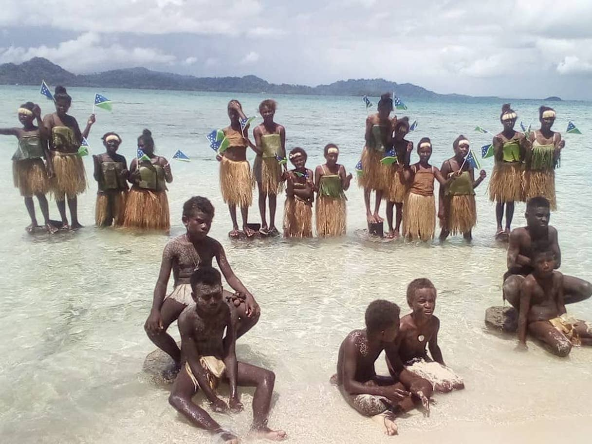Pacific Islands students join the climate strike