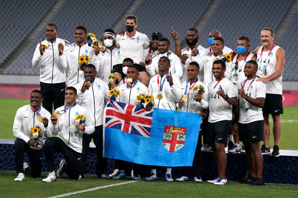 Fiji wins gold at the Tokyo 2020 Olympics