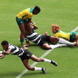 Fijiana try at the Tokyo Olympics