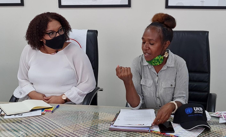 Gender based violence hearing PNG