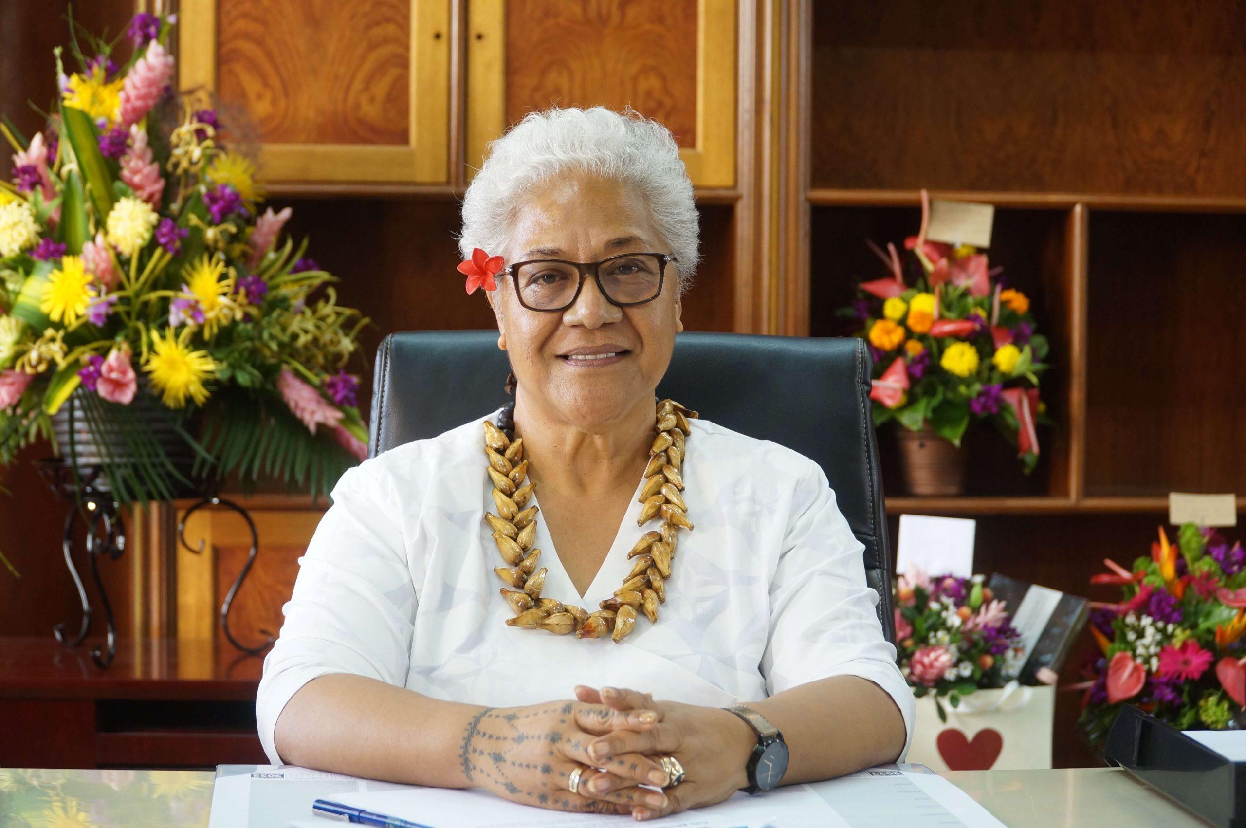Samoa Prime Minister Fiame Naomi Mata'afa