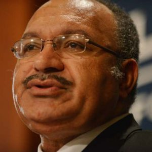Former PNG Prime Minister Peter O'Neill