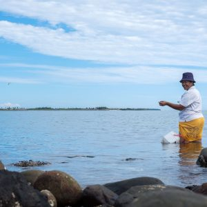 Community fishing Fiji