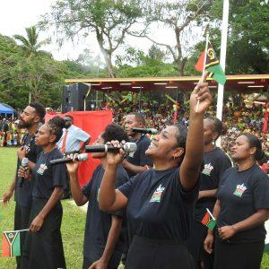 Vanautu church group at 41st independence celebration