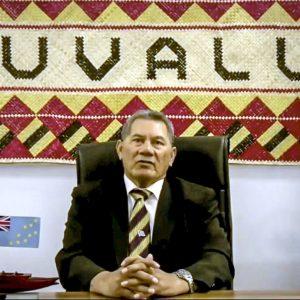 Tuvalu Prime Minister Kausea Natano